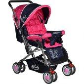 İnfinity Çift Yönlü Bebek Arabası - Pembe