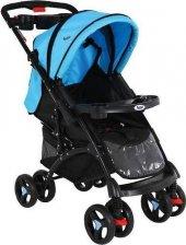Babyhope 609 Çift Yönlü Alüminyum Bebek Arabası-4