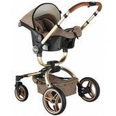 Babyhope BH-3005 Turner 360 Trio Travel Sistem Bebek Arabası-3