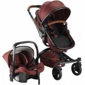 Babyhope BH-3005 Turner 360 Trio Travel Sistem Bebek Arabası-4