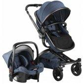 Babyhope BH-3005 Turner 360 Trio Travel Sistem Bebek Arabası-6