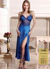 Nt7196 Nurteks Gecelik Long Dress