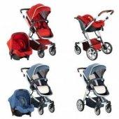 Babyhope BH-3025 Santana Travel Sistem Bebek Arabası Puset-3