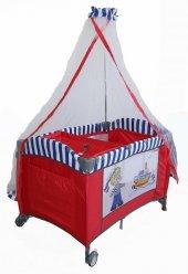 Crest 70*110 Bebek Oyun Parkı Bebek Beşiği YATAK HEDİYELİ-3