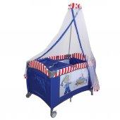 Crest 70*110 Bebek Oyun Parkı Bebek Beşiği YATAK HEDİYELİ-6