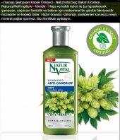 Natur Vital Organik Şampuan Kepeğe Karşı Doğal Etkili 400 Ml Hops