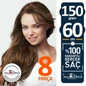 ÇIT ÇIT SAÇ Garantili Gerçek Saçlar A KALİTE SAÇ 8 PARÇA 150 GR-2