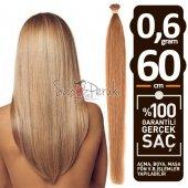 100 Gerek Saç 0.6 Gr Doğal Kahverengi Tonlar
