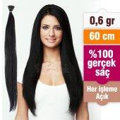 Koyu Kestane Kaynak Saç