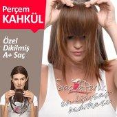 Perçem Kahkül Saç KAHVERENGİ Tonlar