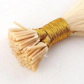 Boncuk Kaynak Saç 0,8 gr Platin Sarı Gerçek Saç-2