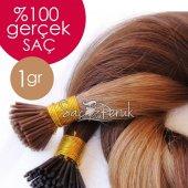 Boncuk Kaynak Saç Kahverengi Karamel 1 Gr Gerçek Saç