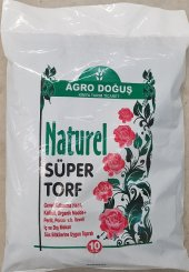 Yerli Torf 10 Litre Çiçek Toprağı Fide Toprağı Tor...