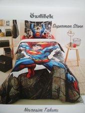 özdilek Superman Stone Lisanslı Tek Kişilik...