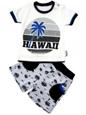 Necix Baby Hawai Yazılı Takım 3 6 9 12 Ay