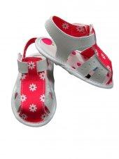 Papulin Baby Çiçekli Patik Ayakkabı (17 No 0 4 Ay) (18 No 4 8 Ay)