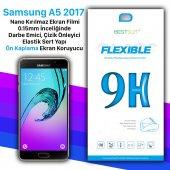 Bestsuit Samsung A5 2017 Nano Kırılmaz Cam Ekran Koruyucu kılıf