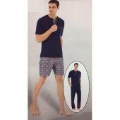 Pierre Cardin 5330 Erkek 3 Lü Pijama Takımı