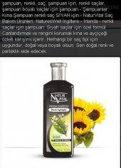 Natur Vital Henna Koyu Renk Saçlar İçin Şampuan 300 Ml