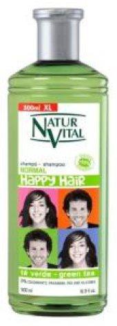 Natur Vital Happy Normal Saçlar Doğal Şampuan 500ml