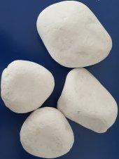Beyaz Dolamit Taş 5 Kg 6 10 Cm Beyaz Dekorasyon Ta...