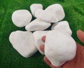 Beyaz Dolomit Taş 25 Kg 6 10 Cm Cm Doğal Taş Süs T...