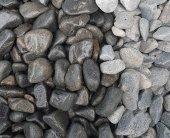 Siyah Dolomit Taşı 1 Kg 2,5 4 Cm Siyah Bazalt Dolo...