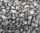 Siyah Bazalt Dolomit Taşı 25 Kg 2,5-4  Süs Taşı Dekor Taşı Tamburlu Taş Süsleme Taşı Dekorasyon Taşı Çakıl Taşı Bahçe Taşı