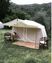 Içten Kurmalı İki Odalı Kamp Çadırı