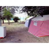 Iki Odalı İçten Kurmalı Pamuklu Kamp Çadırı 6...