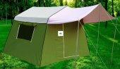 Tek Odalı İçten Kurmalı Suni Deri Kamp Çadırı-4
