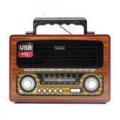 Kemai Md 1800 Bluetooth Usb Sd Fm Nostaljik Radyo