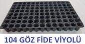 Fide Viyolü 104 Gözlü 10 Adet Fide Yetiştirme Kabı...