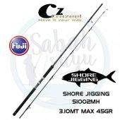 Crazee S1002MH Shore Jigging Kamış 310cm Max.45gr
