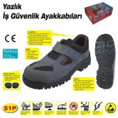414 Yazlık S1 42 No Çelik Burunlu Ayakkabı