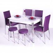 Mutfak Masa Takımı Masa Sandalye 4 Sandalye + 2...