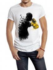 Hayalet Boksör Temalı Erkek Tişört