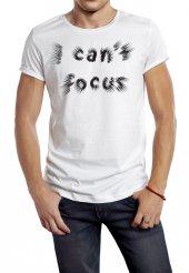 ı Cant Focus Temalı Erkek Tişört