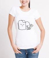 Teashirt Temalı Bayan Tişört