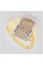 Cigold 14 Ayar Taşlı Yüzük 20k1yzk0295000853