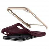 iPhone X Kılıf, Spigen Neo Hybrid Burgundy-8