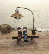 Sokak Lambası Banktaki Aşıklar Biblosu Model 3