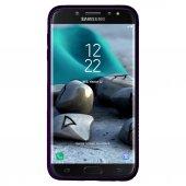 Samsung Galaxy A6 Plus (A605) Premium Simple Arka Kapak Mor