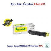 TK-5140 / Kyocera Ecosys M6030cdn/M6530cdn Sarı Orijinal Toner