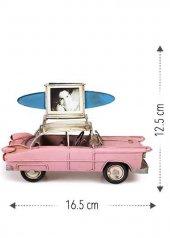 Nostaljik Fotoğraf Çerçeveli Chevrolet 16,5 Cm