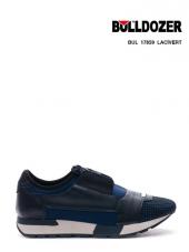 BULLDOZER Siyah -Lacivert Günlük Spor Ayakkabı -ÇİFT ORTOPEDİLİ