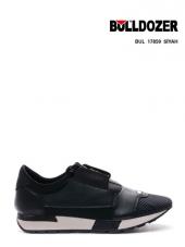 BULLDOZER Siyah -Lacivert Günlük Spor Ayakkabı -ÇİFT ORTOPEDİLİ-2