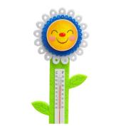 Mavi Çiçek Keçe Oda Termometresi