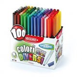Fibracolor Colori Keçeli Kalem 100 Renk Set