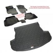L.Locker Ford Fiesta 2008-2013 Arası 3D Paspas + Bagaj Havuzu